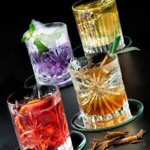Mixology set 4 Vasos dof  31 cl, Cristal exclusivo