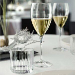 Wine Drop Copa Cristal Champagne 24 cl Set x 6 By RCR