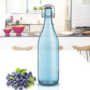 Botella Azul Hermetica