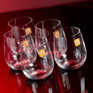 Vaso corto Invino set x 6 Cristal RCR