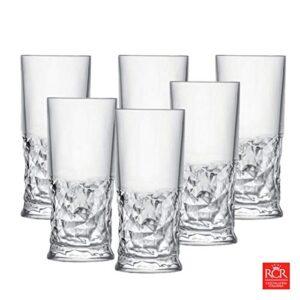 Funky vaso Cristal largo 35 cl SETX6 RCR