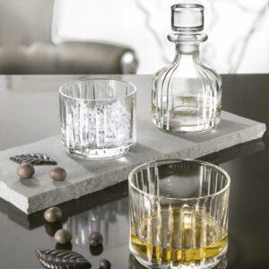 Combo licorera y dos vasos Cristal RCR Italia