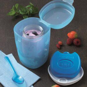 Recipiente Refrigerante 0.5 L Ideal para Yogurt y frutas